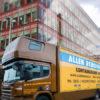 Truck in Dublin City Office Move